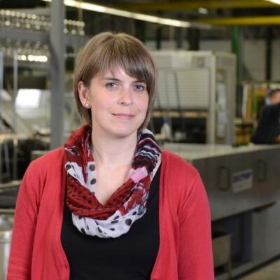 Sarah Otte, Angebots- und Auftragsbearbeitung Türfüllungen
